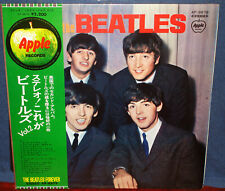 """BEATLES """"With The Beatles"""" 1969-70 Japan ONLY Apple Lp w/Obi/pinup book LENNON"""