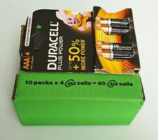 10 PZ Duracell Plus Power AAA/4 Batterie Alcaline MN 2400 1.5V LR03