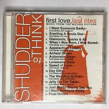 Shudder to Think, PROMO CD, First Love, Last Rites, Music From Motion Picture