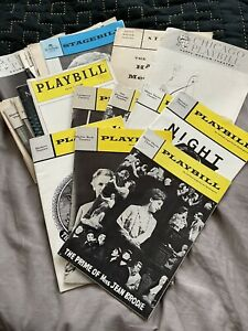 Large Collection Of Playbill's From The 1960's