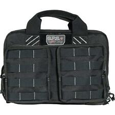 G-Outdoors G.P.S. Tactical Range Bag, Holds up to 6 Handguns, Black