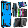For LG Aristo 2/Phoenix 4/Fortune 2 Case Belt Clip Holster Kickstand Phone Cover