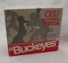 The Ohio State University Buckeyes Football Trivia Game EUC