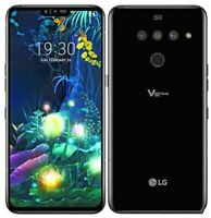10/10 LG V50 ThinQ 5G LM-V450PM - 128GB - Black - Sprint + GSM Unlocked