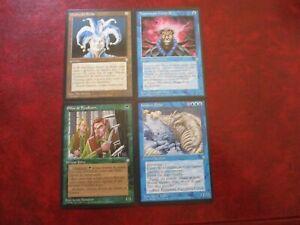 Portuguese: Jester's Cap; Brainstorm; Fyndhorn Elves; Kraken Polar