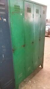 SPIND METALLSCHRANK VINTAGE Industrie Design Blechspind Stahlschrank Shabby grün