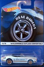 2015 Hot Wheels Heritage-Real Riders '68 OLDSMOBILE CUTLASS CONVERTIBLE