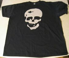 RARE VINTAGE IRON FIST MEN'S T SHIRT XL COOL SKULL ART FRONT IRON FIST BACK SIDE