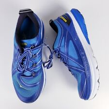 Hoka One One Men's Constant Blue White Running Sneaker Shoes Size 11