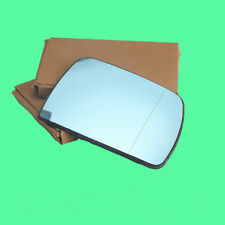 Blue Right Passenger Side Mirror Glass W/ Electric Heating For BMW X5 E53 01-06