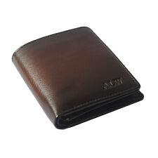Modish Durable Brown Color Bifold PU Wallet For Men