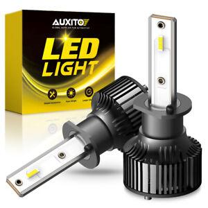 AUXITO H1 LED Bulb Hi/Lo Beam White Headlight High Power Conversion Kit CANBUS