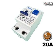 Tesla 20 Amp RCD/MCB Safety Switch 6kA Electromagnetic Double Module