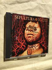 SEPULTURA CD ROOTS ROADRUNNER RECORDS 1996 RR 8900-2 ROCK