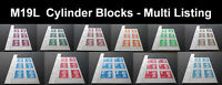 2019 M19L MACHIN CYLINDER BLOCKS from COUNTER SHEETS - Multi Choice