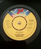 "Electric Light Orchestra ‎– Rockaria Vinyl 7"" Single UK UP 36209 1977"