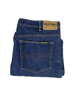 "HARD YAKKA FOUNDATIONS STRETCH DENIM MENS WORK JEANS Y44610 102S 51"" Waist"
