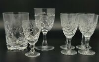 A Collection of Quality Lead Crystal Glasses.