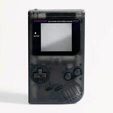 Game Boy Original Shell Case Clear Black Replacement GB DMG-01 RetroSix ABS IPS