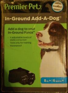 Premier Pet - IN-GROUND Add-A-Dog - 8lbs+/6months+ Collar - New/Open Box!