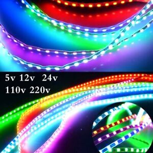 Lighting Soft Belts Color Lamp Rope Waterproof Blue Red Green Purple 5-110-220v
