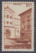 MONACO - 1939 25c Chestnut - UM / MNH