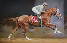 fine art print California Chrome 2016 Dubai World Cup horse race racing