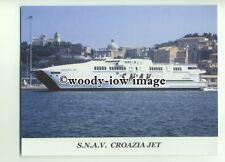 FE0238 - SNAV Ferry - Croazia Jet - postcard