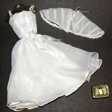 Franklin Mint Sandy From Grease White Dance Dress & Accessories