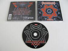 ADRAMELECH Seven CD 1998 VERY RARE OOP DEATH ORIGINAL 1st PRESSING on REPULSE!!!