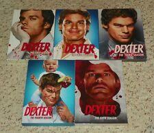 Dexter - The Complete Seasons 1-5 (DVD: 20 Discs - 2011)