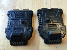 Transformers G1 Parts 1985 DEFENSOR feet foot pair set
