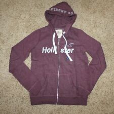 Hollister Women's Zipper Hoodie Size Small New !!