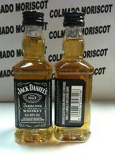 WHISKEY JACK DANIELS 5cl 40% GLASS miniatura mignonette mini bottle Spanish Imp