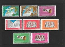 PARAGUAY Sc 911-8a NH ISSUE of 1966 Space Astronauts perf imperf SET+S/S