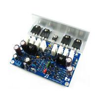 Assembeld LJM L20 mono Amplifier board With Angle Aluminum Mono 350W amp board