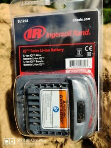 Ingersoll-Rand BL1203 IQV12 Lithium-Ion 12V 2 AH Battery Sealed! F/FC/SHP