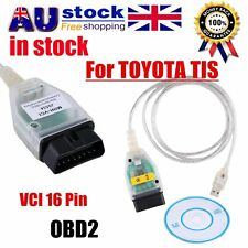 Mini VCI 16 Pin OBD2 Diagnostic Scanner Cable For TOYOTA TIS Techstream AG