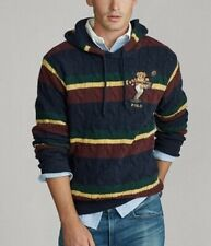 Polo Ralph Lauren Men's Kicker Bear Cable Knit Sweater