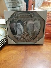 New Fetco Then and Now Picture Frame hearts wedding