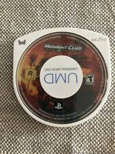 Midnight Club: L.A. Remix (Sony PSP, 2008) UMD only Tested And Cleaned