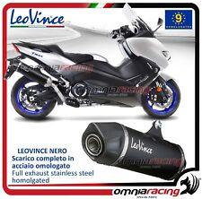 Leovince Nero Impianto scarico completo 2:1 Inox Yamaha TMAX ABS/DX/SX 530 2017>