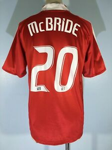 BRIAN MCBRIDE CHICAGO FIRE MLS USA 2006 ADIDAS FOOTBALL SHIRT SOCCER JERSEY M