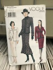 Vogue Sewing Pattern 7151 size 14 16 18   Jacket Skirt