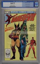 Daredevil #196 - CGC Graded 9.8 - Wolverine Appears