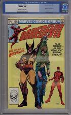 Daredevil #196 - CGC Graded 9.8 - Wolverine Appears
