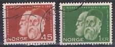 Noorwegen gestempeld 1961 used 464-465 - Henri Dunant (2)