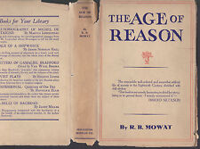 The Age of Reason (Voltaire, Rousseau, Frederick the Great etc.), R. B. Mowat DJ