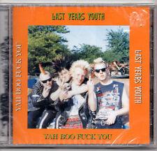 Last Years Youth - Yah Boo Fuck You CD