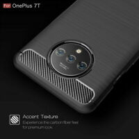 For OnePlus 7T 7 Pro 6 6T Hybrid slim Shockproof Soft Rubber Brushed Case Cover